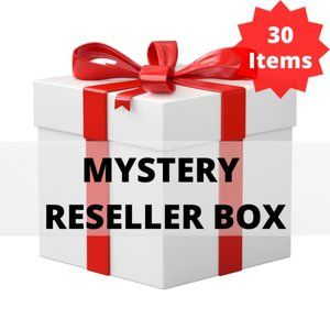 30 ITEMS FOR $99!  MYSTERY RESELLER BOX! +SHIPPING